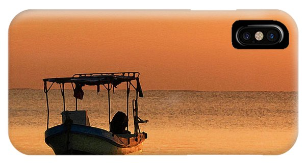 Fishing Boat In Waiting IPhone Case