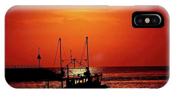 Fishing Boat IPhone Case
