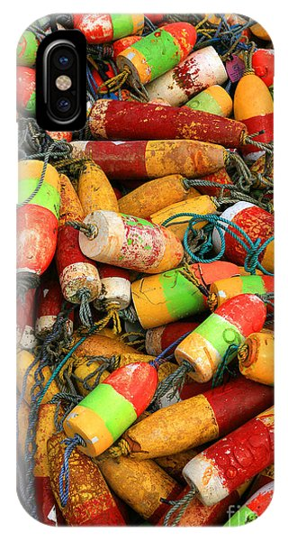 Fishing Buoys IPhone Case