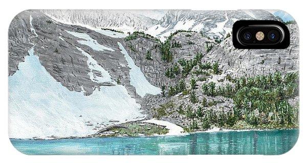 Fishing Gem Lake IPhone Case