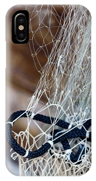 Fishing Net Details - Rovinj, Croatia IPhone Case