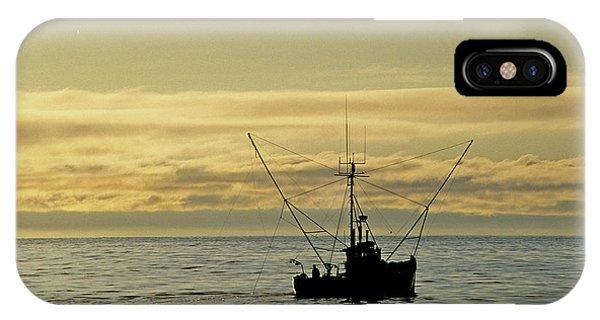 Fishing Off Santa Cruz IPhone Case