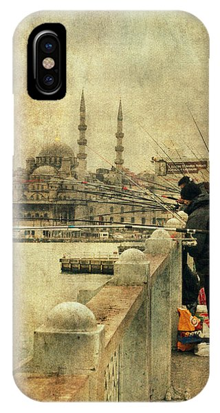 Fishing On The Bosphorus IPhone Case