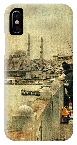 Fishing On The Bosphorus IPhone Case