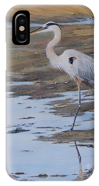 Fishing The Mud Flats...sold  IPhone Case