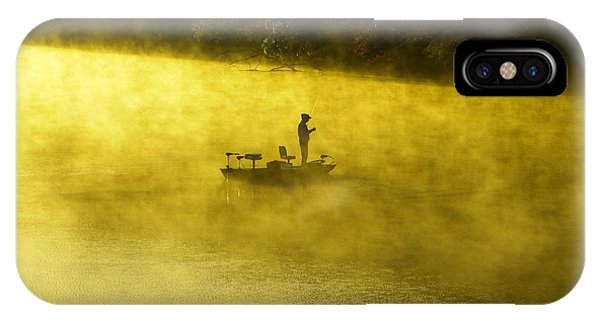 Fishing The Prettyboy Reservoir IPhone Case
