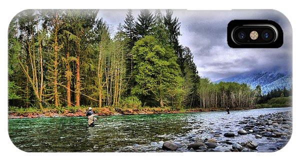 Fishing The Run IPhone Case