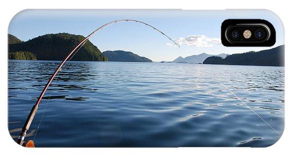 Fishing Tlupana Inlet IPhone Case
