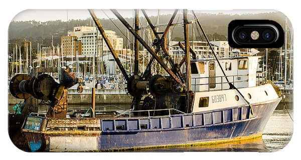 Fishing Trawler IPhone Case