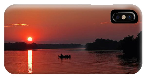 Fishing Until Sunset IPhone Case