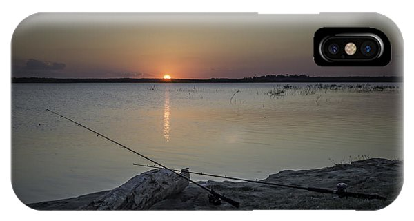 Fishing Poles IPhone Case
