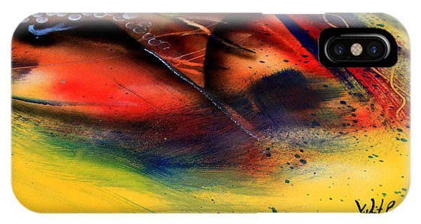 Fishtail Abstract IPhone Case