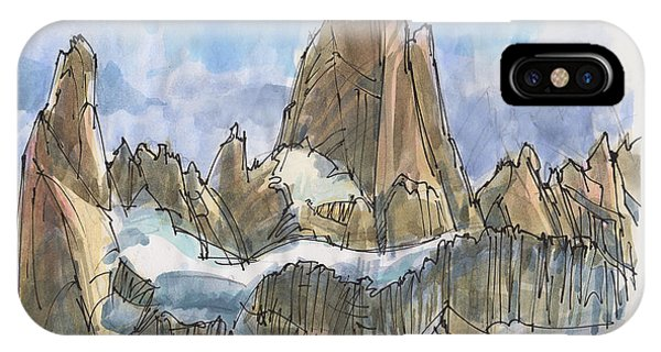 Fitz Roy, Patagonia IPhone Case