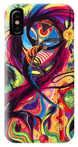 Raven Masquerade IPhone Case