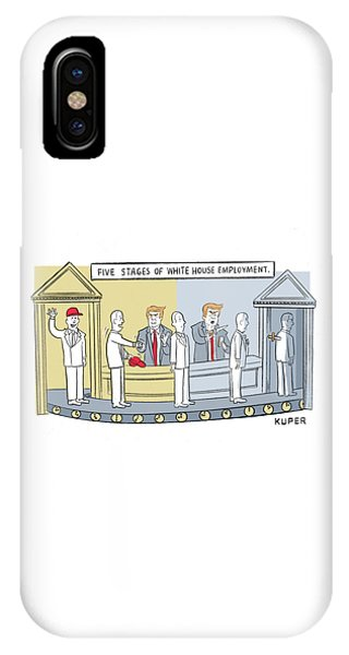 Five Stages Of White House Employment IPhone Case