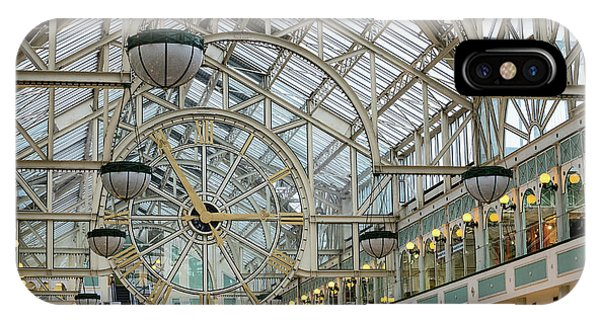 Five To Three - At St. Stephens Green Shopping Centre In Dublin IPhone Case
