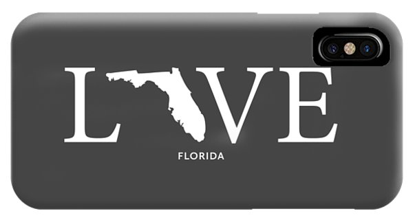IPhone Case featuring the mixed media Fl Love by Nancy Ingersoll