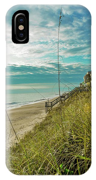 St Aug Beach IPhone Case