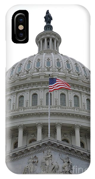 Flag And Dome IPhone Case