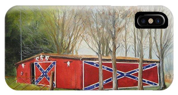 Flag Barn IPhone Case