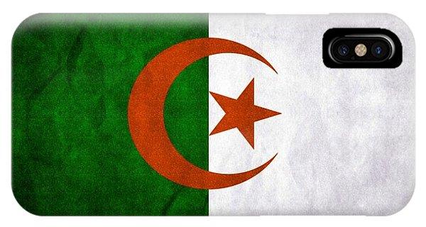 Flag Of Algeria IPhone Case