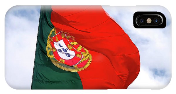 Flag Of Portugal IPhone Case