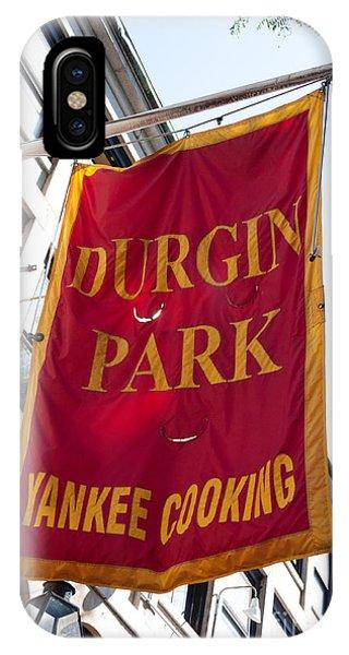 Flag Of The Historic Durgin Park Restaurant IPhone Case