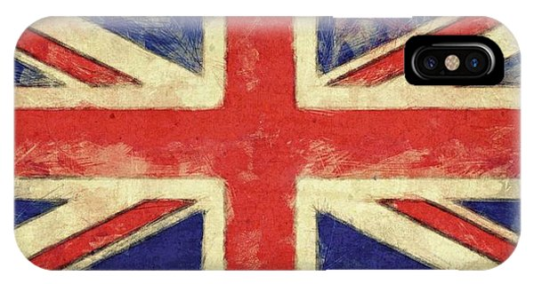 Flag Of The United Kingdom IPhone Case