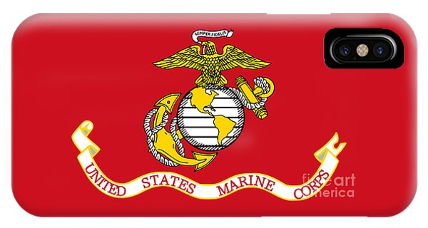 Flag Of The United States Marine Corps IPhone Case
