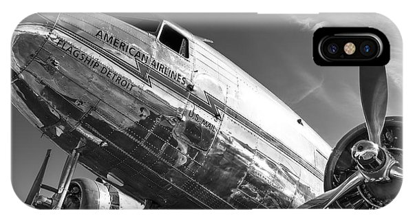 Flagship Detroit Black And White IPhone Case