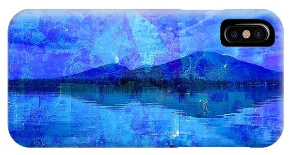 Flagstaff Lake Blu IPhone Case