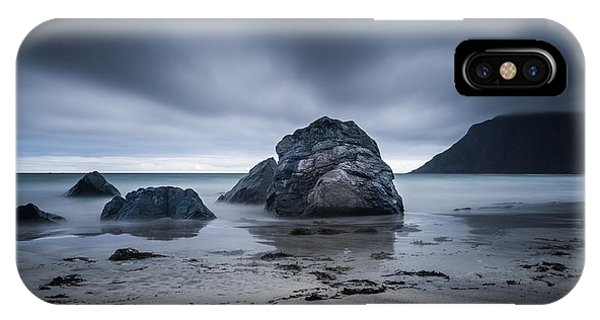 Flakstad Beach IPhone Case