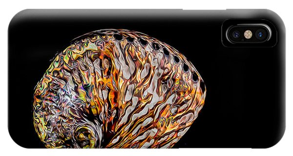 Flame Abalone IPhone Case