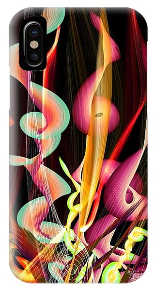 Flame By Nico Bielow IPhone Case