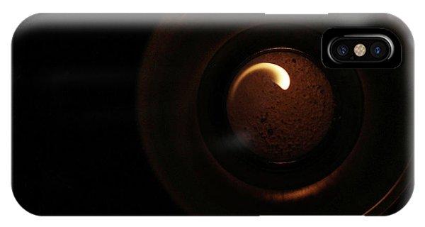 Flame Curl IPhone Case