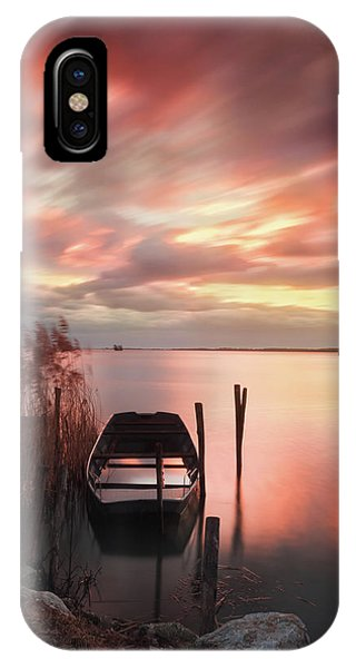 Flame In The Darkness IPhone Case