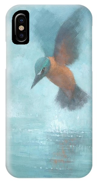 Flame In The Mist IPhone Case