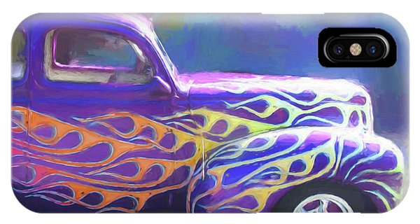 Flamed 1940 Ford IPhone Case