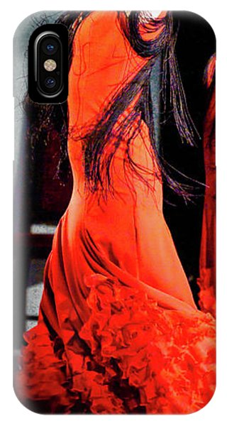 IPhone Case featuring the photograph Flamenco 38 by Catherine Sobredo