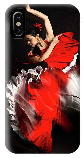 Flamenco Dancer - 01 IPhone Case