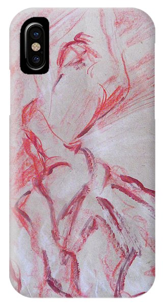 Flamenco Dancer 1 IPhone Case