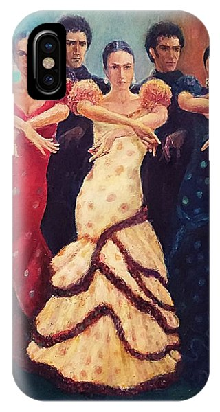 Flamenco Dancers 5 IPhone Case