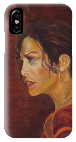 Flamenco Girl 1 IPhone Case