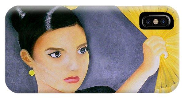 Flamenco Girl IPhone Case