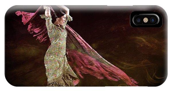 Flamenco Nomada  IPhone Case