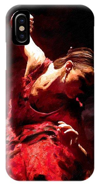 Flamenco Poise IPhone Case