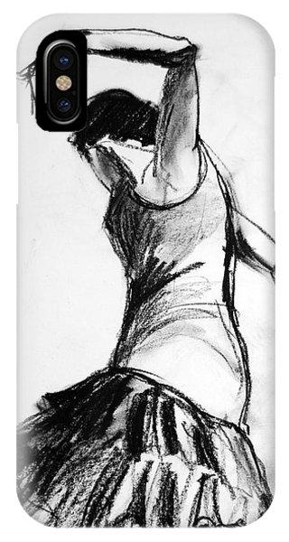 Flamenco Sketch 2 IPhone Case