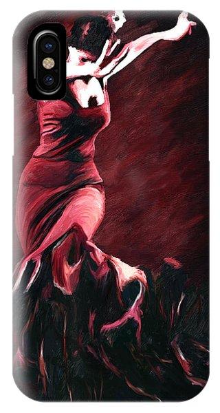 Flamenco Swirl IPhone Case