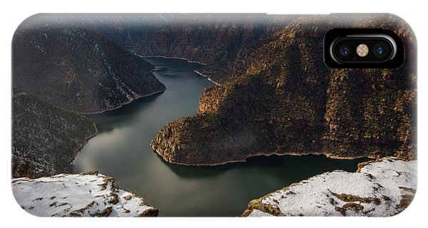 IPhone Case featuring the photograph Flaming Gorge by Dustin LeFevre