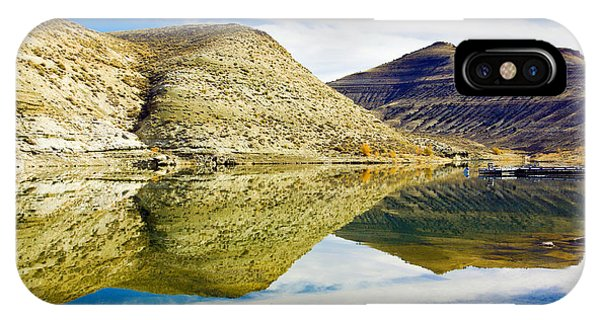 Flaming Gorge Water Reflections IPhone Case
